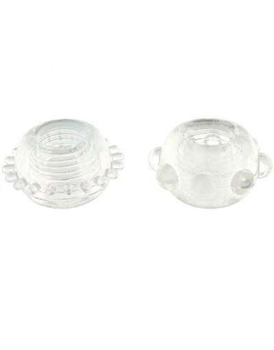 POWER STRETCHY ANILLO TRANSPARENTE 2PCS