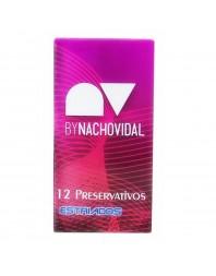 PRESERVATIVOS NACHO VIDAL ESTRIADO 12UDS CAD. FINALES DE AGOSTO