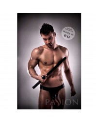 JOCKSTRAP 008 BLACK LEATHER PASSSION MEN LINGERIE S/M