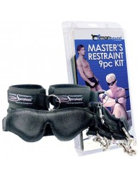 THE MASTER RESTRAINT KIT 9 PIECE