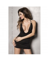 MIRACLE CHEMISE NEGRO BY PASSION WOMAN L/XL