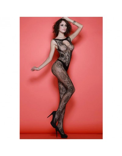 QUEEN LINGERIE - BODYSTOCKING NEGRO