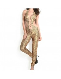QUEEN CUSTOME SEXY TRAJE LEOPARDO + DIADEMA